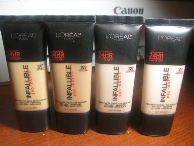 L Oreal Paris Infallible Pro Matte Foundation 1 Oz Creme Cafe 110