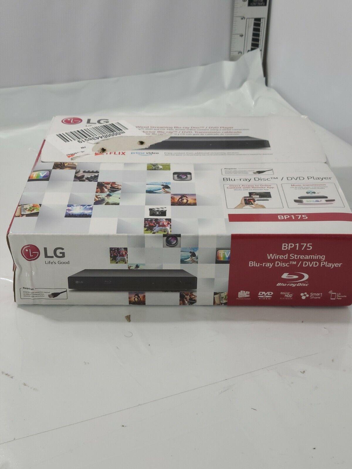 LG - Streaming Audio Blu-ray Player - Black BP175 audio black bp175 player streaming