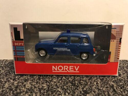 """Renault 4l 1964 1961-1967 /""""la gendarmería/"""" 1:54 norev"""