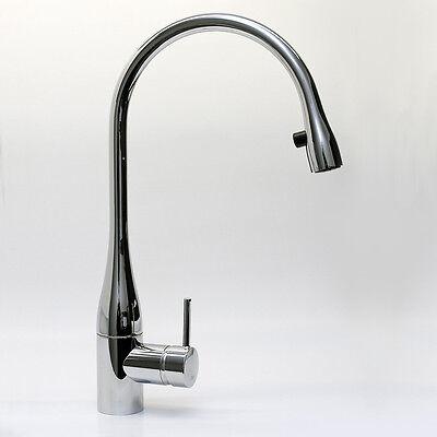 KWC EVE Chrom 10.111.103.000FL Hohe Armatur Auszug Küche Spültisch Wasserhahn