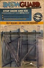 6 Packs Of 4snow Guards 24 Seal Gaskets 24 Snow Guards And Hardware Metal Roof