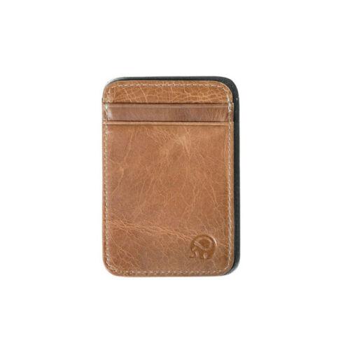 Men/'s Slim Minimalist Front Pocket Wallet Genuine Leather Credit Card ID Holder