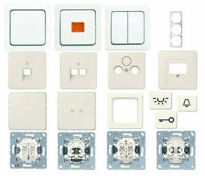 Jung ST 550 Serie Steckdosenblende in cremeweiß