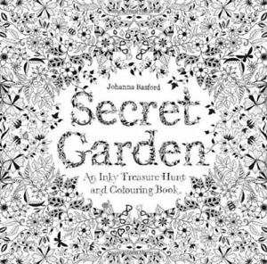 Image Is Loading Secret Garden An Inky Treasure Hunt And Coloring