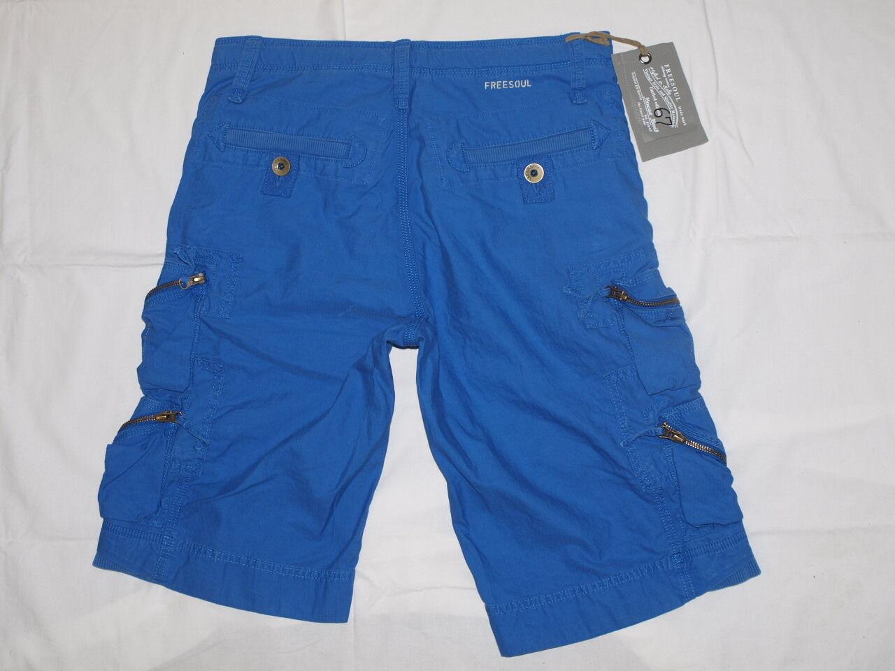 Freesoul rolander Bermuda kurze Hose (w29) Normaler Bund P71251 P71251 P71251 (Blau Lambada)     | Um Sowohl Die Qualität Der Zähigkeit Und Härte  3960a2