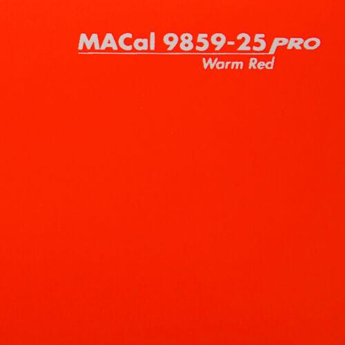 Plotterfolie warmrot glänzend Selbstklebefolie 61,5 cm 3 m 7,32 € //m