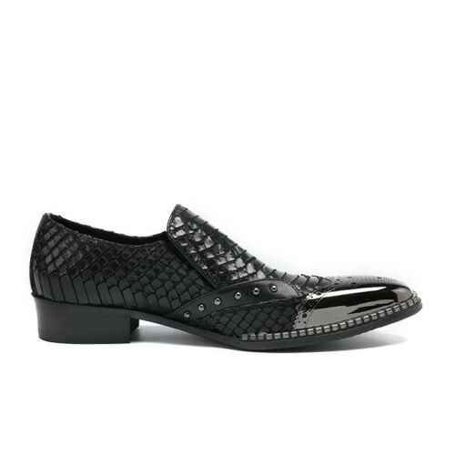 Business Kleid Mens Toe On Loafer Formelle Pointy Abend Nachtclub Schuhe Slip Ax68xpqw