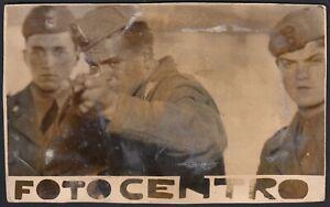 YZ3291-Militari-sparano-ad-un-tiro-al-bersaglio-1930-Fotografia-epoca-Photo