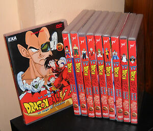 10-Dvd-DRAGON-BALL-Z-LA-SAGA-DI-FREEZER-la-serie-Tv-Raccolta-COMPLETA-Dragonball
