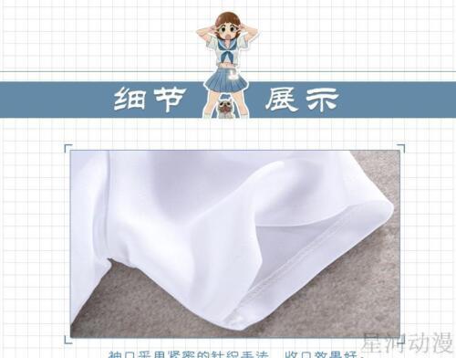 Kill LA Kill Mankanshoku Mako Sailor Cosplay Costume dress Skirt Chinese Size