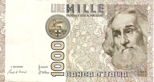 Italy: 1000 Lire 6-1-82 VF