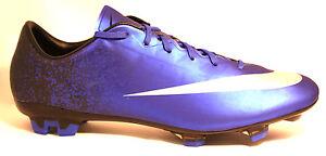 686a0d13f7b Nike Mercurial Veloce FG-CR7 Deep Royal Blue Black Metalic FG 40 ...