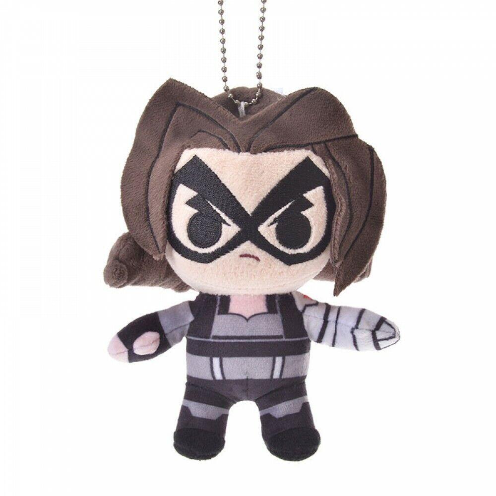 Disney Deformed Plush Key Chain Marvel Captain America Japan import NEW