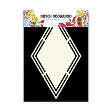 Dutch Doobadoo Shape Art Template Snowstar 713115