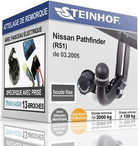 ATTELAGE-fixe-NISSAN-PATHFINDER-R51-de-03-2005-FAISCEAU-SPECIAL-13-broches