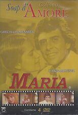 4 Dvd Box Cofanetto **MARIA** Collana Soap D'Amore con Grecia Colmenares 1985