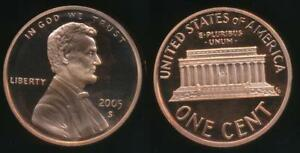 United-States-2005-S-One-Cent-1c-Lincoln-Memorial-Proof