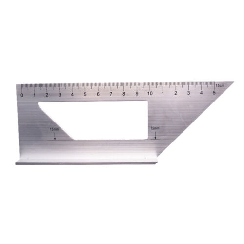 NE/_ Woodworking Ruler 3D Mitre Angle Measuring Gauge Square Size Measure Tools A