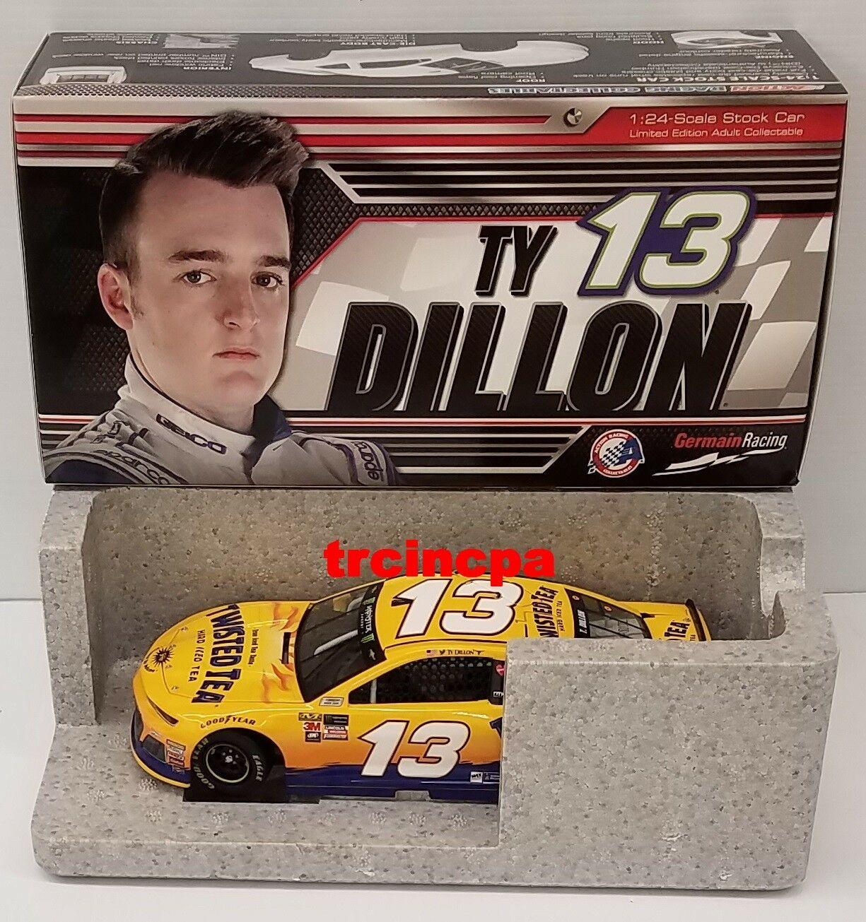Ty Dillon 2018 Lionel  13 Twisted Tea Chevy Camaro ZL1 1 24 FREE SHIP