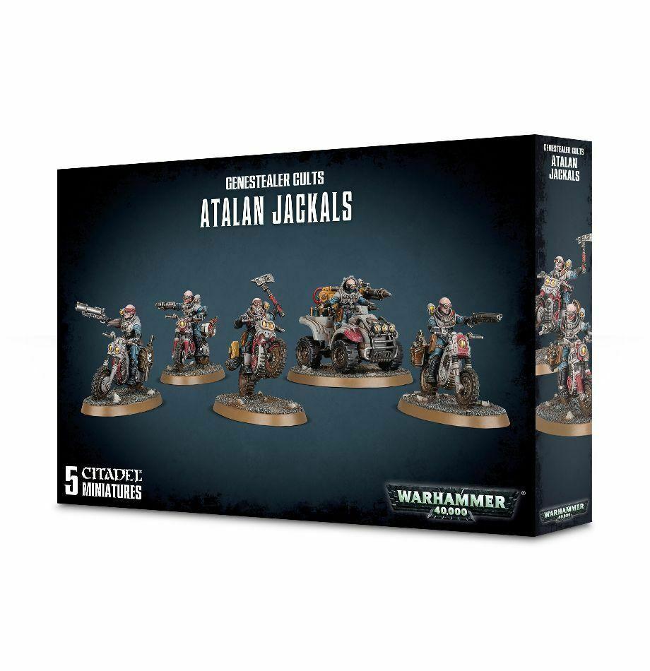 Atalan chacales genestealer cultos Warhammer 40K