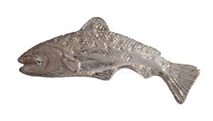 Salmon Pin Badge - LAST FEW