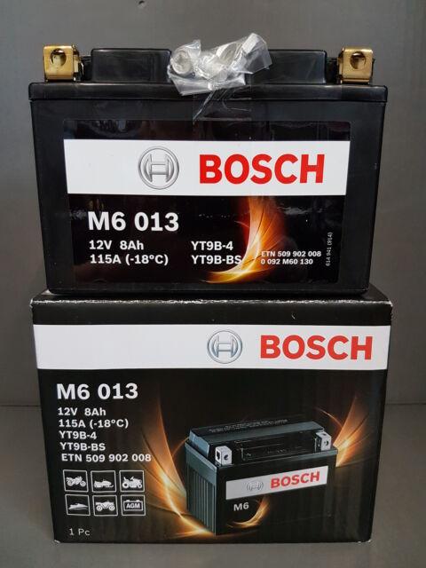 Batterie de moto BOSCH AGM M6 12V 8AH 0092m60130 ##