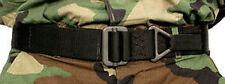 Genuine BLACKHAWK BLACK CQB Rescue Rigger Cintura Medium 41cq01bk