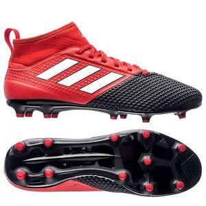 adidas Ace 17.3 Primemesh FG   AG 2016 Soccer Shoes Red   Black Kids ... 6b1f6988aee