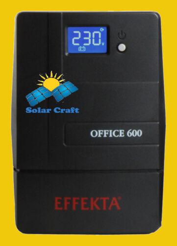 EFFEKTA Onduleur Courant Computer PC Ordinateur Pile Onduleur Chargeur  1500 VA