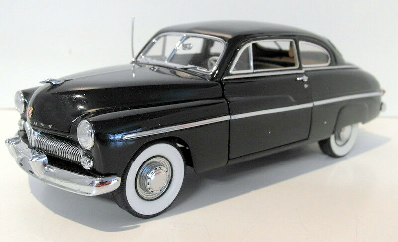 Danbury Mint escala 1 24 - - - DM49MER Negro 1949 Mercury Club Coupe 82277a