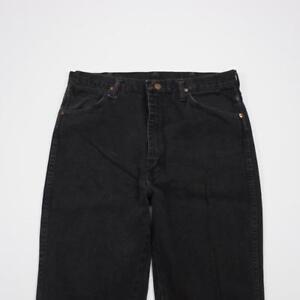 WRANGLER-936WBK-Slim-Fit-Cowboy-Cut-Jeans-Black-Denim-Mens-34x38