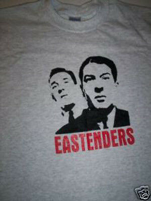 XXL THE KRAYS Kray Twins London GANGSTER EAST END Heavy Cotton t-shirt Small