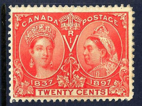 CANADA 59 Mint FVF CV$400.00 Rich Color 595