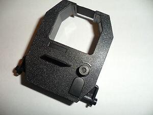 Amano TCX-85 TCX85 Electronic Time Recorder Ribbon Time Clock Black Compatible