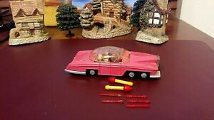 Vintage Lady Penelopes FAB 1 THUNDERBIRDS Dinky Toys#100 Front/back launchers WK