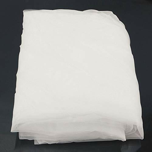 64T Silk Screen Mesh Printing Mesh Fabric 160 Mesh White 1 Yard Long 50/'/' Wide