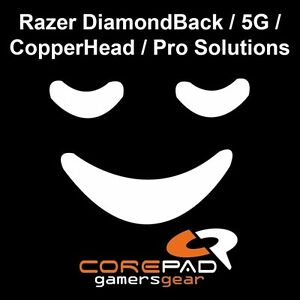 Corepad-Skatez-Razer-DB-DiamondBack-5G-CopperHead-Ersatz-PTFE-Teflon-Mausfuesse