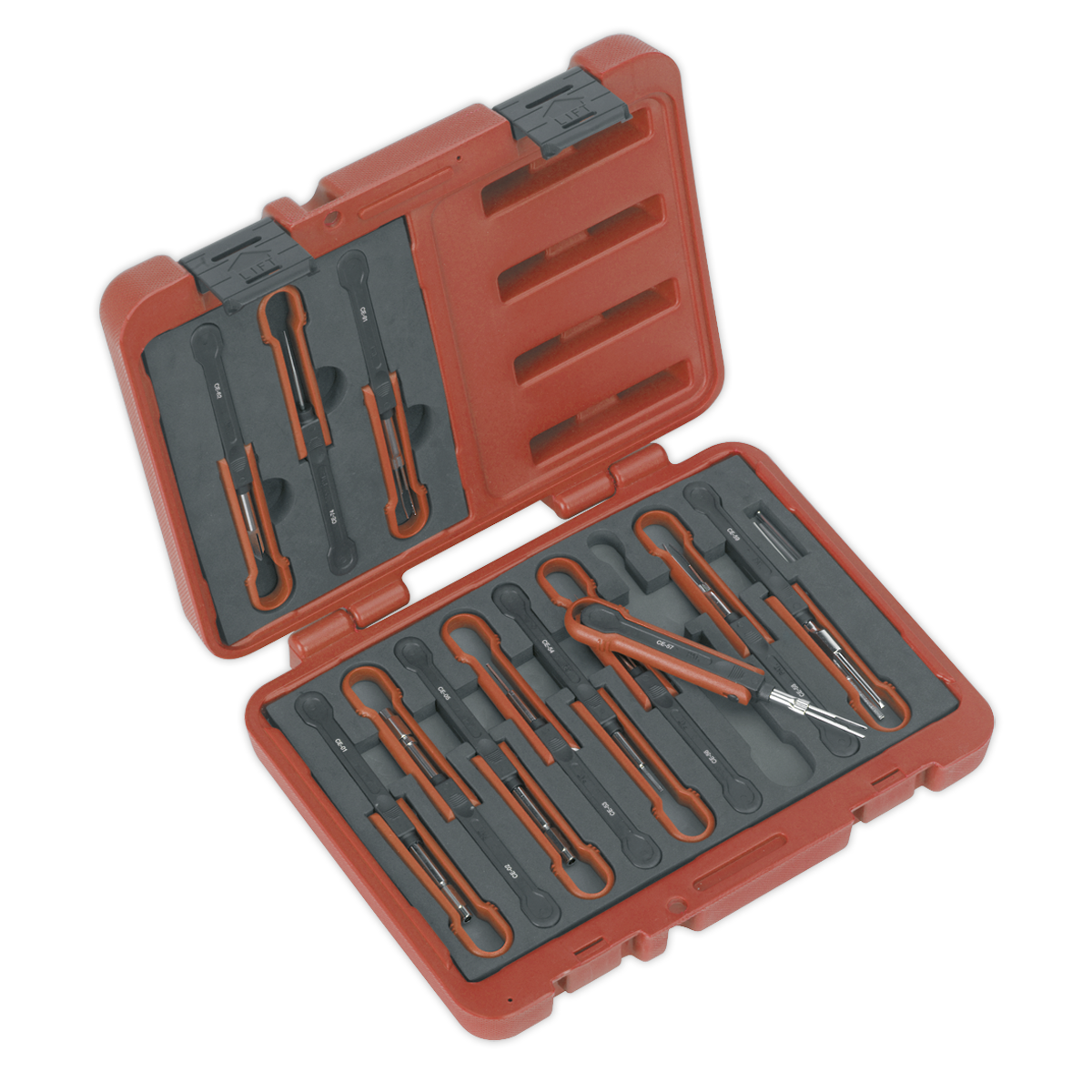 Universal Cable Ejection Tool Set 15pc Sealey VS9201 by Sealey