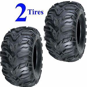 TWO-AT-25x11-10-ATV-TIRE-Sedona-MUD-REBEL-25-11-10-25x11-00-10-25-11-00-10-6ply