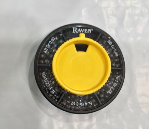 One Pack Raven Premium Plomb Split Shot Distributeur Pack 5 tailles