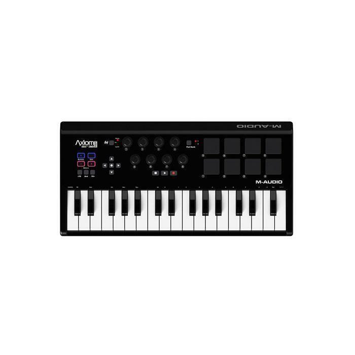 M-Audio Axiom AIR Mini 32 Portable 32 Key USB MIDI Keyboard Controller with Eigh