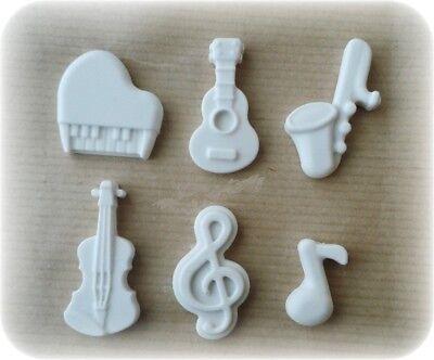 Segnaposto Matrimonio Musica.4 Gessetti Profumati Chiave Di Violino Strumenti Musicali