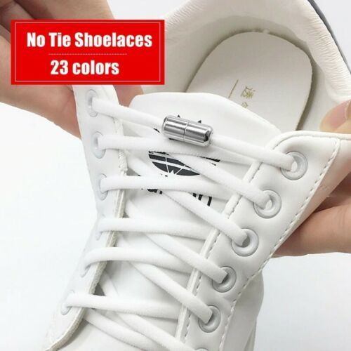 Elastic No Tie Shoelaces Semicircle Shoe Laces For Kids and Adult Sneakers Laces
