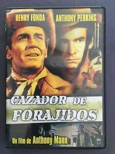 DVD-CAZADOR-DE-FORAJIDOS-Henry-Fonda-Anthony-Perkins-Betsy-Palmer-ANTHONY-MANN