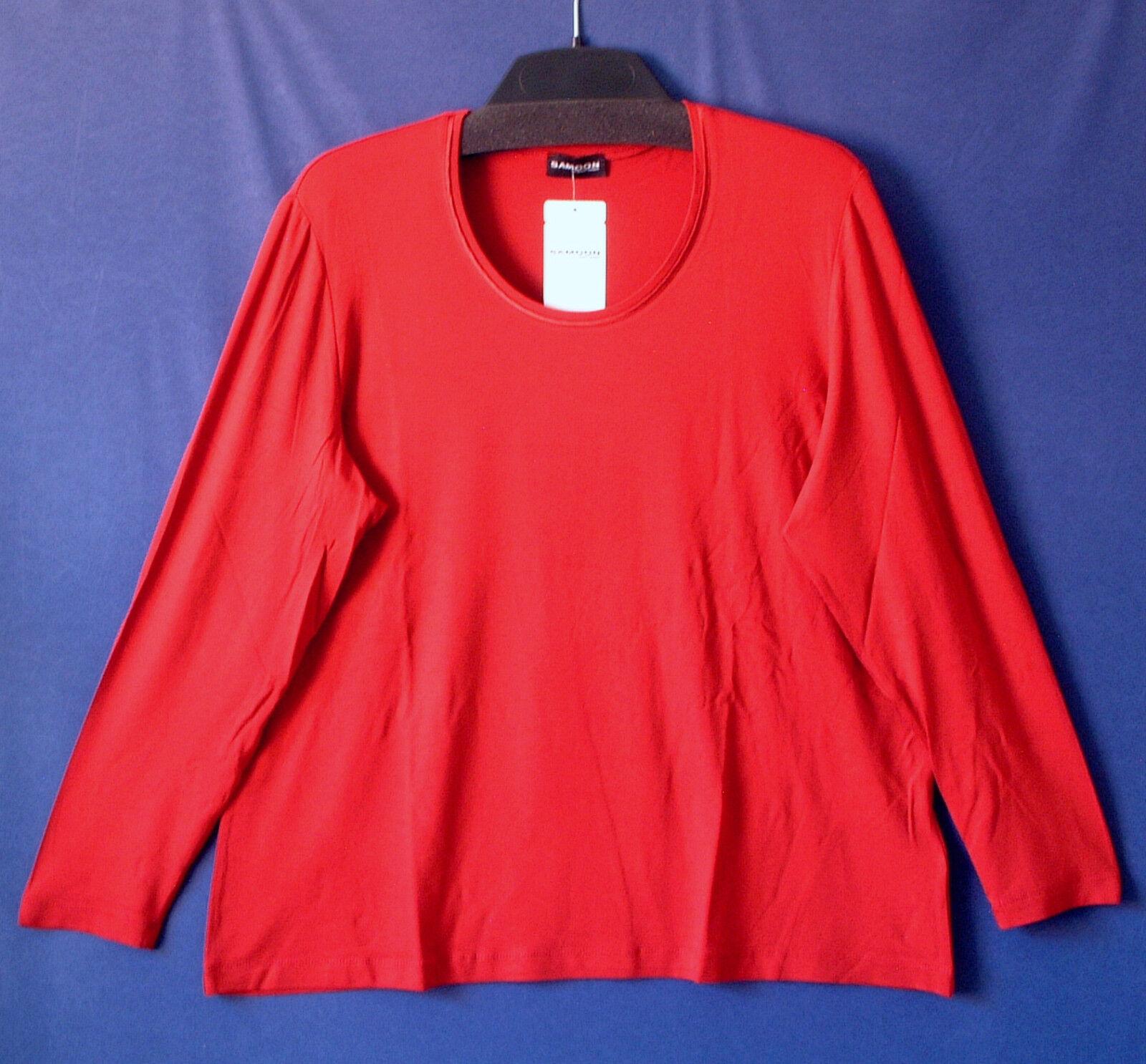 Samoon Shirt Shirt Shirt by Gerry Weber Basic Viskose Stretch langarm Satinpaspel Damen Gr. | Schnelle Lieferung  | Komfort  b1592c