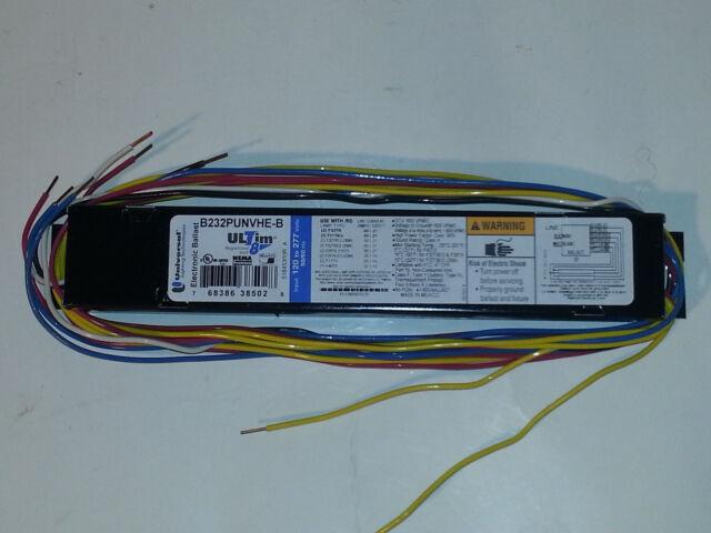 10 NEW Universal Triad® ULTIM8 Electronic HE B232PUNVHE-B Fluorescent Ballast
