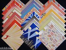 12X12 Scrapbook Paper Cardstock Comic Con Heroes Stack Superhero Dress Up 24 Lot