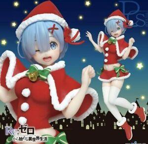 Taito Re Zero Precious Figure Figurine 23cm REM PVC Red Winter ver.