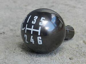 GUNMETAL CNC BILLET RACING SHIFT KNOB FOR 05-14 FORD MUSTANG 12X1.25MM 6 SPEED
