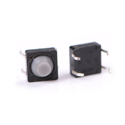 20X 8x8x5MM 4PIN Tactile Push Button Micro Switch Direct Self Reset Soundless YC